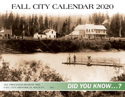 Fall City Historical Society 2020 Calendar Cover