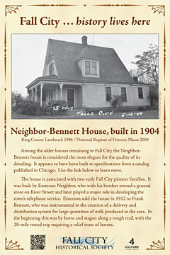 Neighbor Bennett house